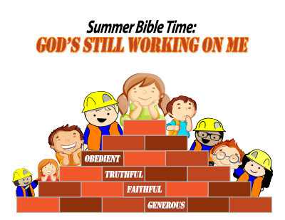 Summer Bible Time: God